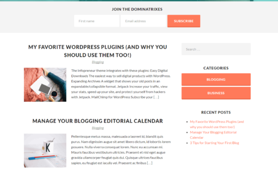 Behind the Scenes of the Infopreneur WordPress Theme