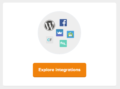 MailerLite integrations button
